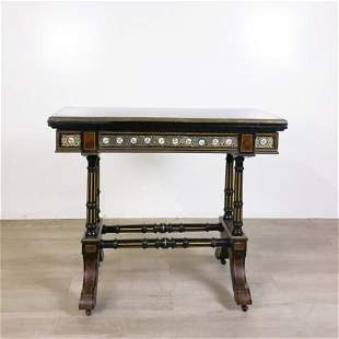 French Empire Style Flip Top Game Table