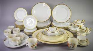 Large Grouping of Porcelain Dinnerware