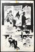 Pat McEown Hellblazer Original Comic Art (1995)