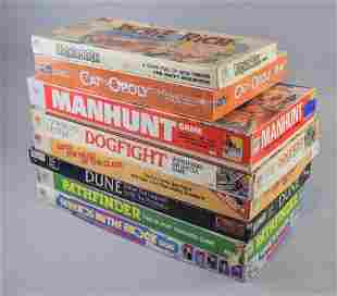 Grouping of Vintage and Newer Board Games