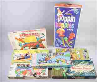 Grouping of Vintage Board Games