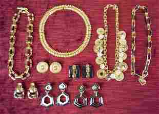 Grouping of Vintage St. John Jewelry