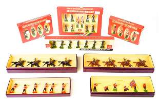 Britains Lead Toy Soldiers in Boxes