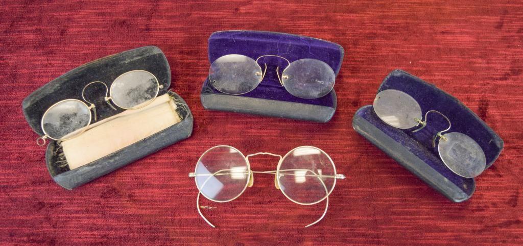 Group of Vintage Eyeglasses