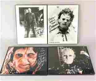 Horror Movie Autograph Collection