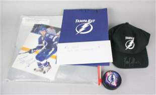 Autographed Tampa Bay Lightning Memorabilia