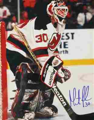 Martin Brodeur NJ Devils Autographed Photo