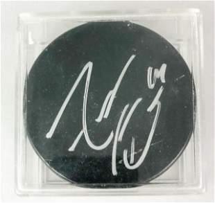 Adam Henrique Autographed Puck