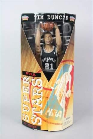 Tim Duncan NBA Super Stars Action Figure