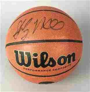 Shabazz Muhammad Autographed Basketball