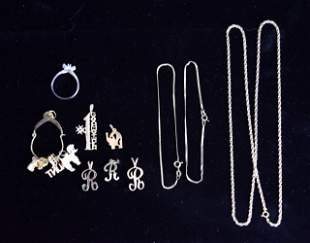 Grouping of 14k Gold Jewelry