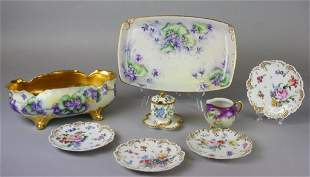 Grouping of German and Austrian Porcelain