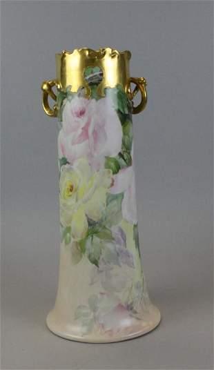 William Guerin & Co. Limoges Vase