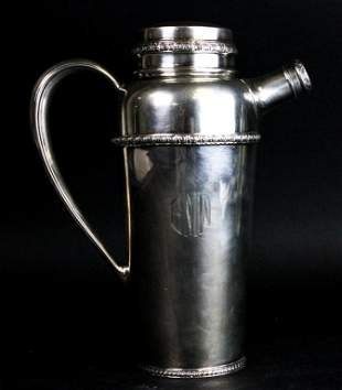 R. Wallace & Sons Sterling Cocktail Shaker