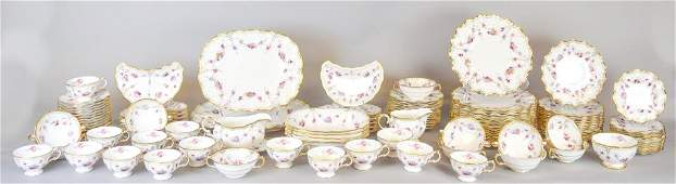 118 Pieces Royal Crown Derby Royal Antoinette