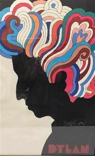Milton Glaser Bob Dylan Poster