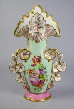 Old Paris Vieux Porcelain Vase