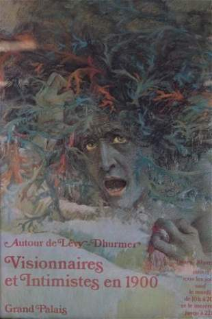 Lucien Levy-Dhurmer Exhibition Poster Print