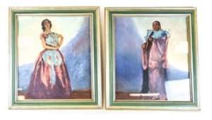 Pair of Norman Andersen Oils