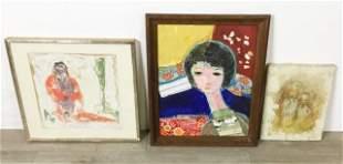 3 Portrait Oils
