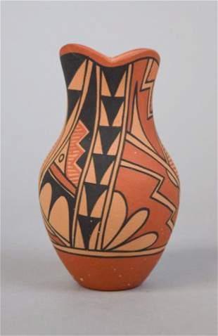 L.M. Lucero Jemez Style Pottery Jar