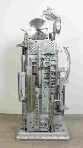 Richard Birkett Modern Typewriter Part Clock