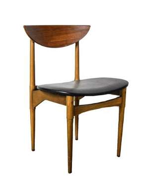 Lane Teak Modern Side Chair