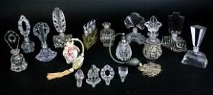 Grouping of Crystal Perfumes