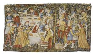French Goblys Reproduction Tapestry