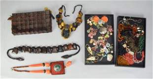 Grouping of Beaded & Natural Jewelry