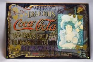 Coca-Cola Relieves Fatigue Advertising Mirror