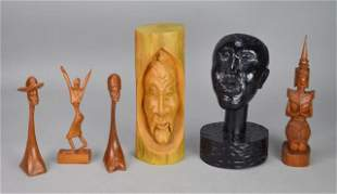 Wood Carving Grouping