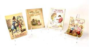 4 Early Illustrated Children's Books