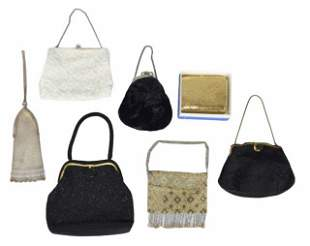 Grouping of Mesh & Beaded Bags