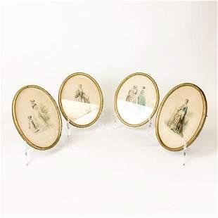 4 Hippolyte Louis Emile Pauquet Fashion Engravings