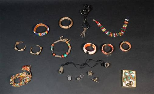 Grouping of Tribal Jewelry