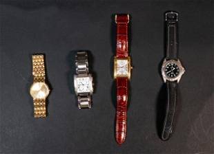 Grouping of 4 Watches