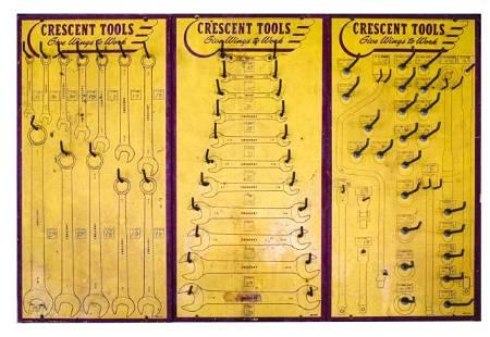 3 Crescent Tools Racks / Displays