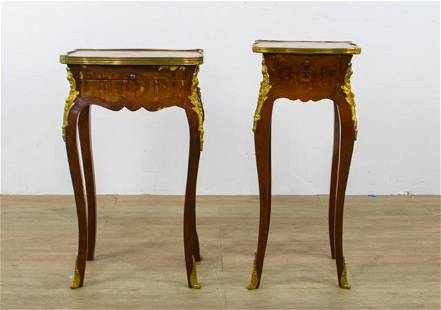 Two Louis XV Style Side Tables