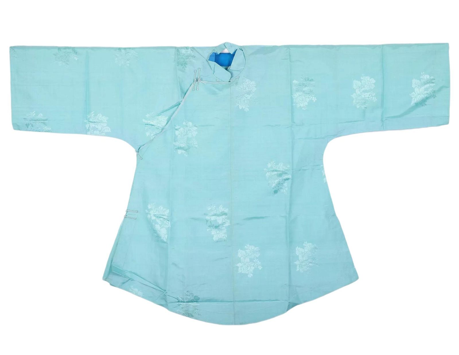 A Chinese Blue Lady Robe Republic Period