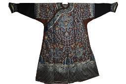 An Embroidered Dragon Robe Qing Dynasty