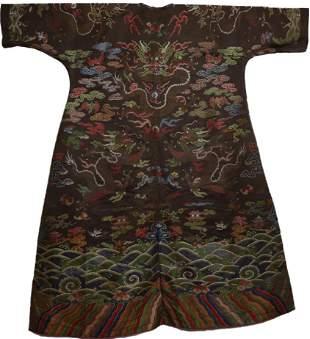 An Imperial Drago Robe Qianlong Period