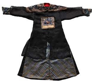 An Embroidered Officer Robe