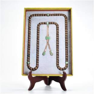 An Aloes-wood Rosary Qing Dynasty
