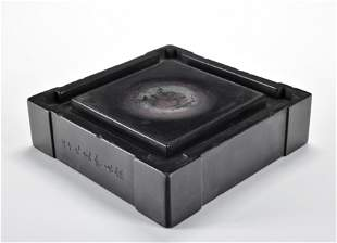 An Ink Paste Stand Qing Dynasty