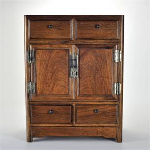 A Huanghuali Cabinet Qing Dynasty