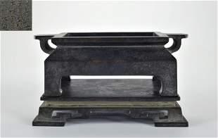 A Bronze Incense Burner Qing Dynasty
