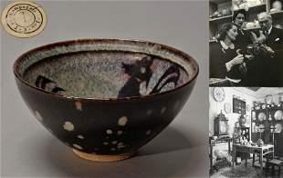 A Jizhou Paper Cut Tea Bowl Song Dynasty