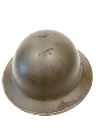 "WW2 Royal Marine commando """"combined op's helmet"""" as"