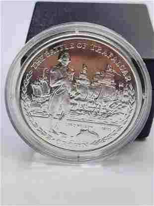 Silver proof 2005 crown celebrating the 200 year
